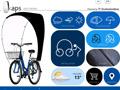 Kaps - Protection vélo contre les intempéries